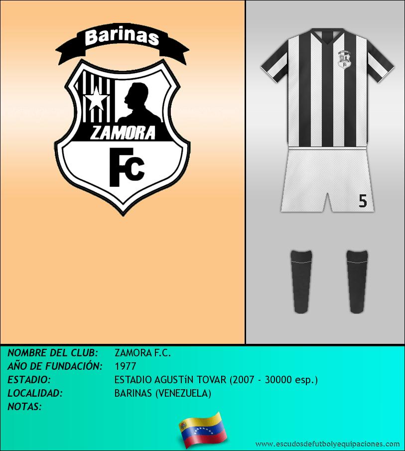Escudo de ZAMORA F.C.