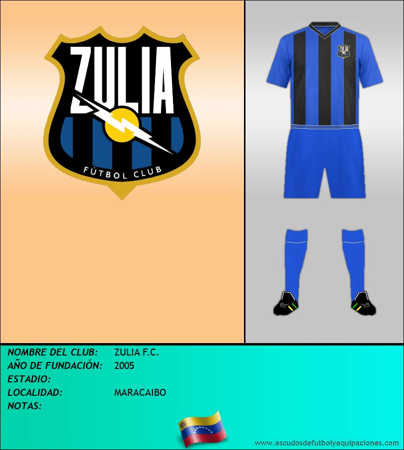 Escudo de ZULIA F.C.
