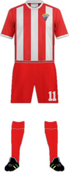 Camiseta ROQUETAS C.F. 2016