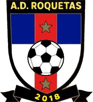 Escudo de C.D. A.D. ROQUETAS DE MAR (ANDALUCÍA)