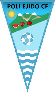 Escudo de C.D. POLI EJIDO C.F. (ANDALUCÍA)