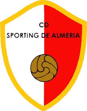 Escudo de C.D. SPORTING DE ALMERIA (ANDALUCÍA)