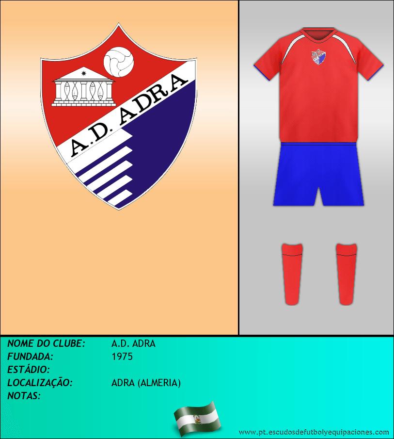 Escudo de A.D. ADRA