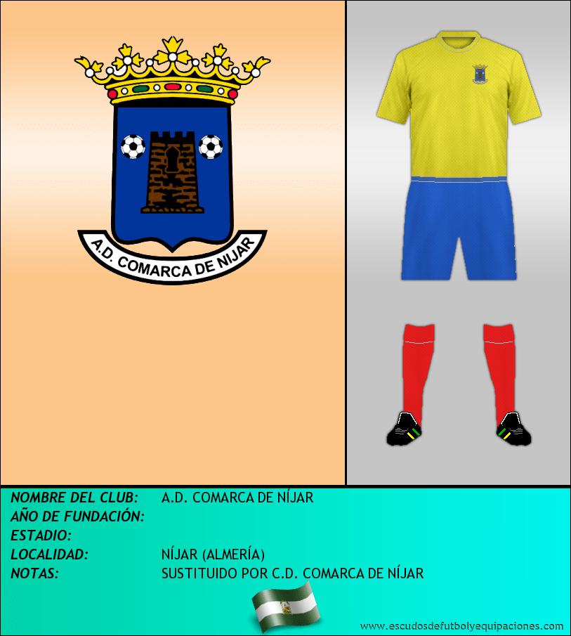 Escudo de A.D. COMARCA DE NÍJAR
