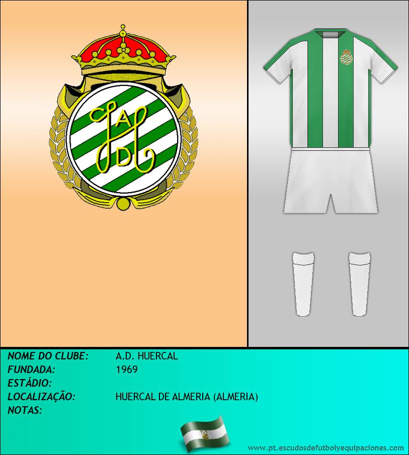 Escudo de A.D. HUERCAL
