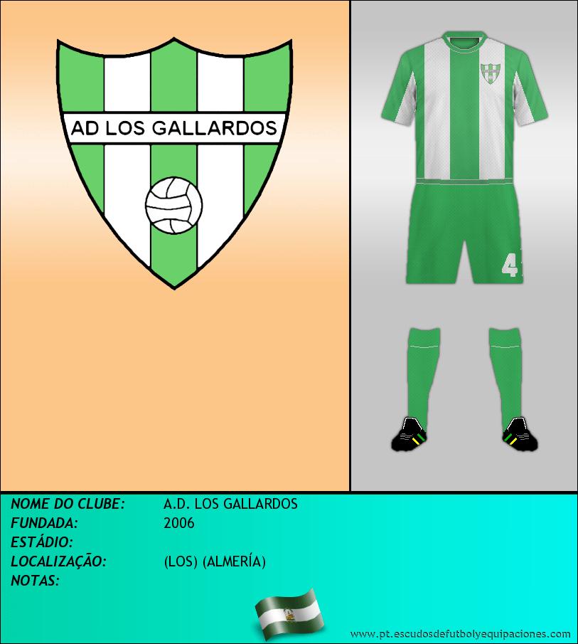 Escudo de A.D. LOS GALLARDOS