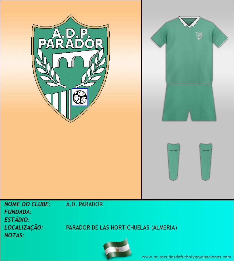 Escudo de A.D. PARADOR