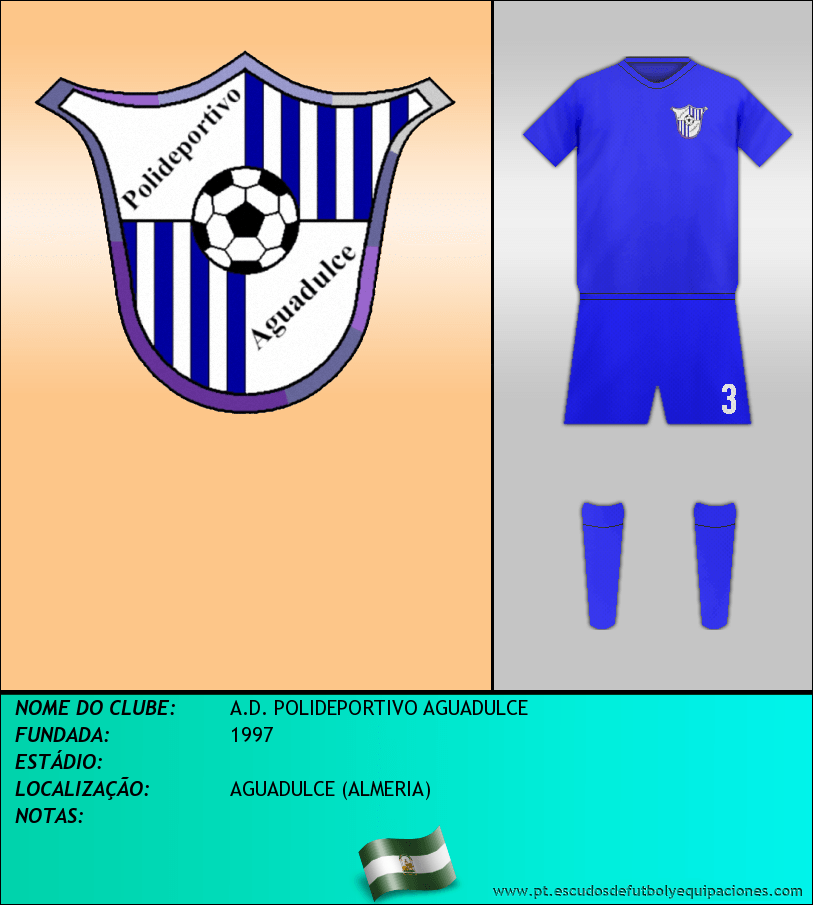 Escudo de A.D. POLIDEPORTIVO AGUADULCE