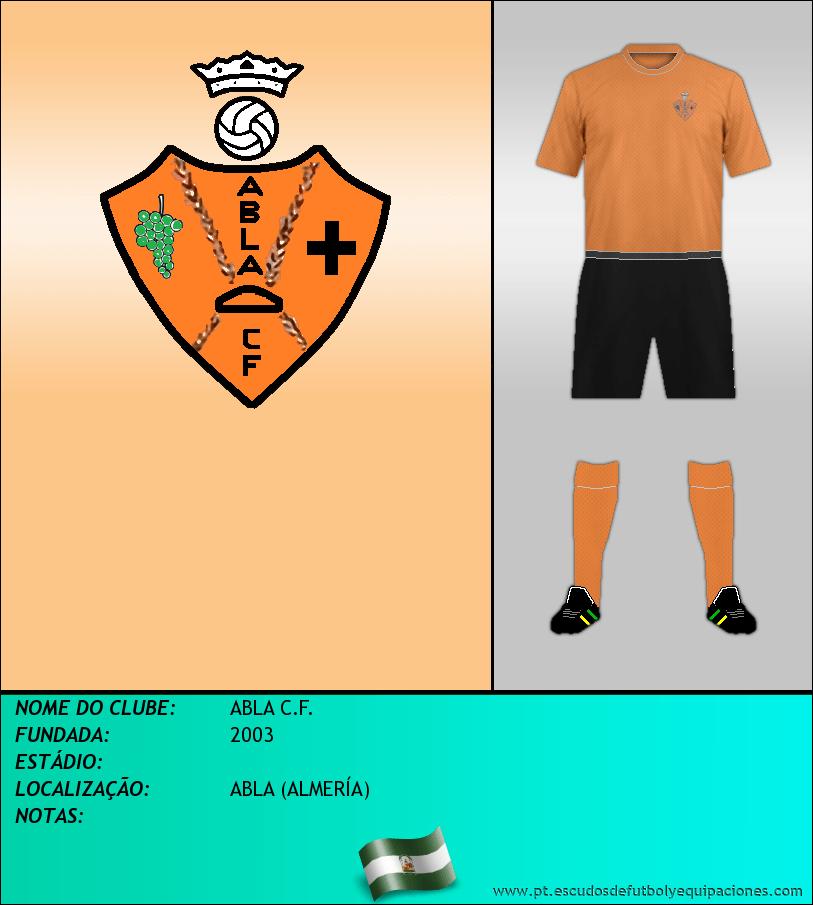 Escudo de ABLA C.F.