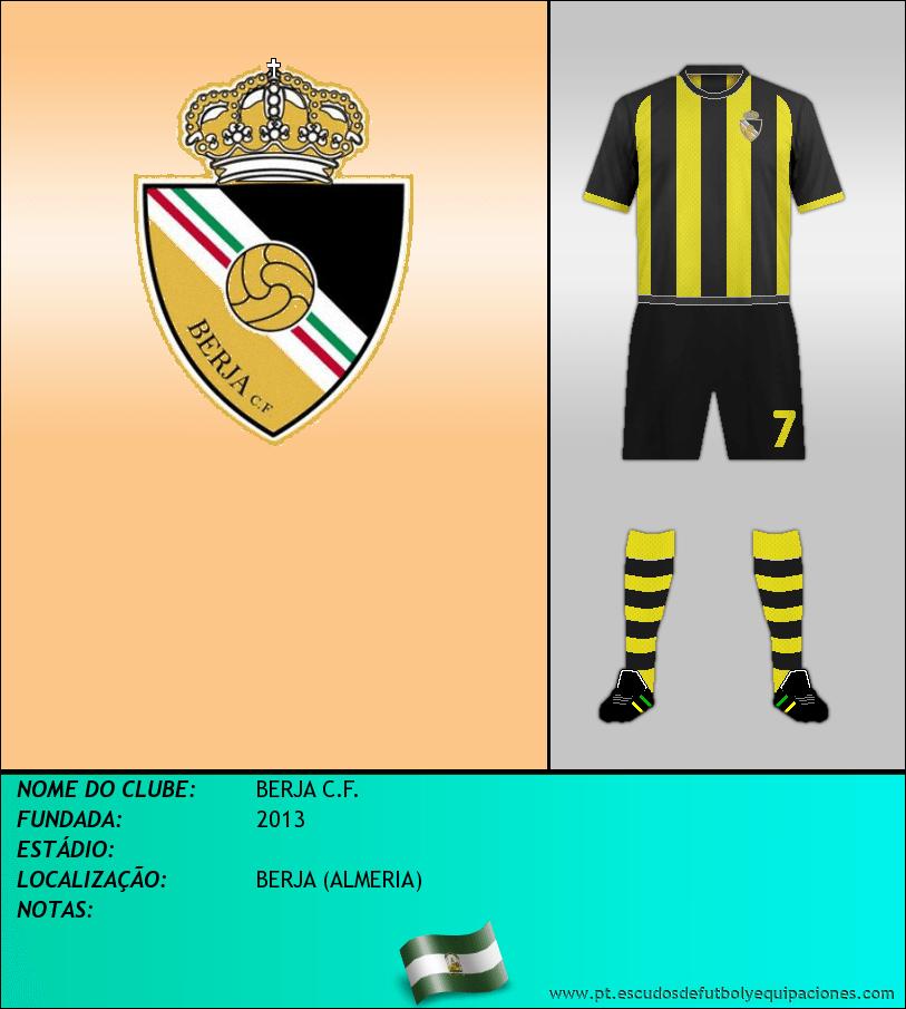 Escudo de BERJA C.F.