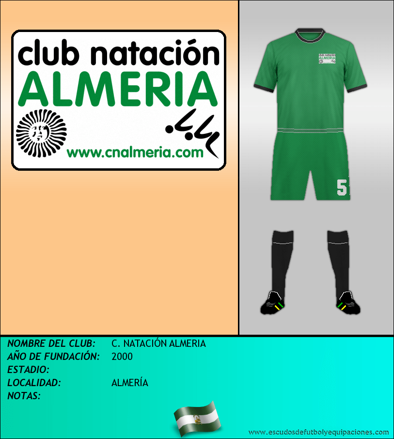 Escudo de C. NATACIÓN ALMERIA
