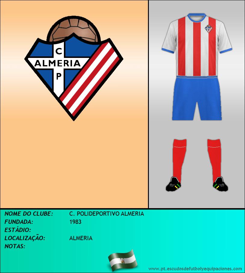 Escudo de C. POLIDEPORTIVO ALMERIA