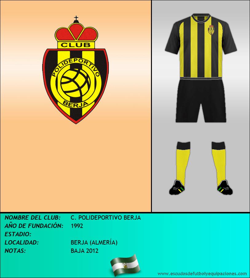 Escudo de C. POLIDEPORTIVO BERJA