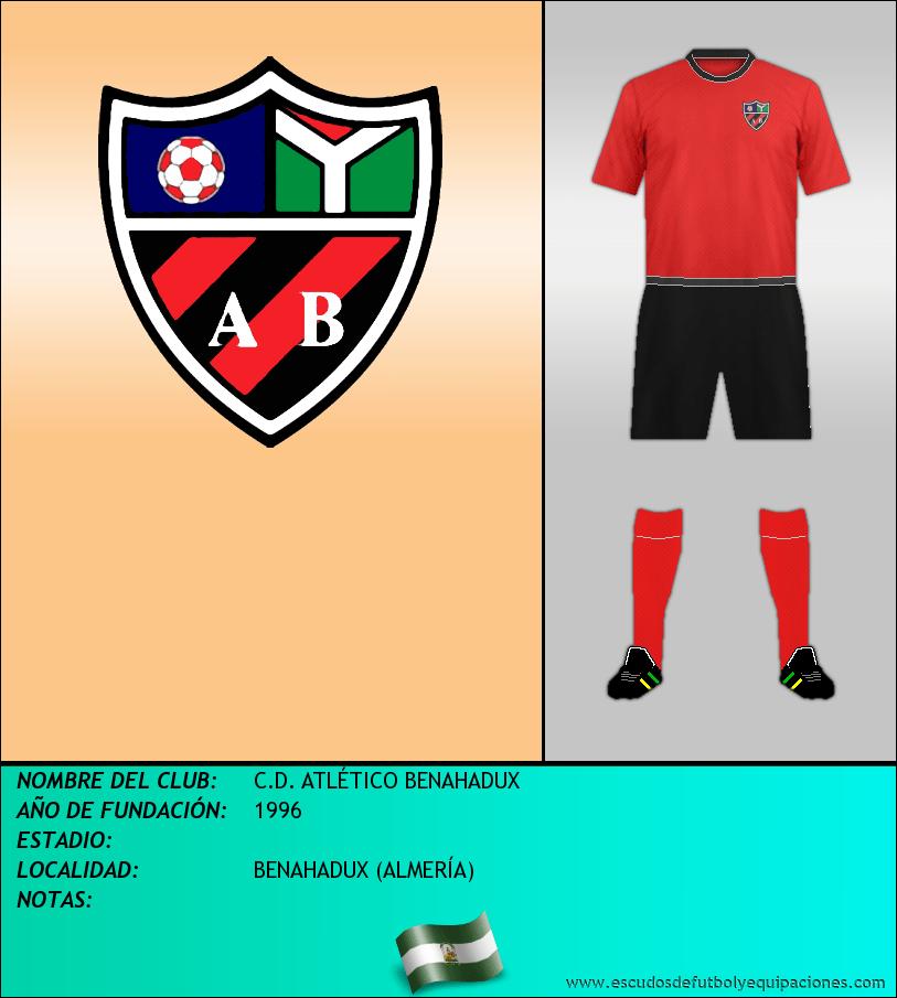 Escudo de C.D. ATLÉTICO BENAHADUX