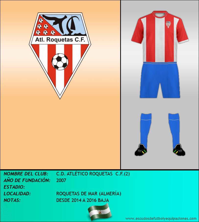 Escudo de C.D. ATLÉTICO ROQUETAS  C.F.(2)