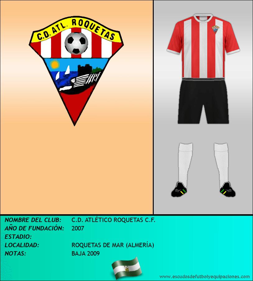 Escudo de C.D. ATLÉTICO ROQUETAS C.F.