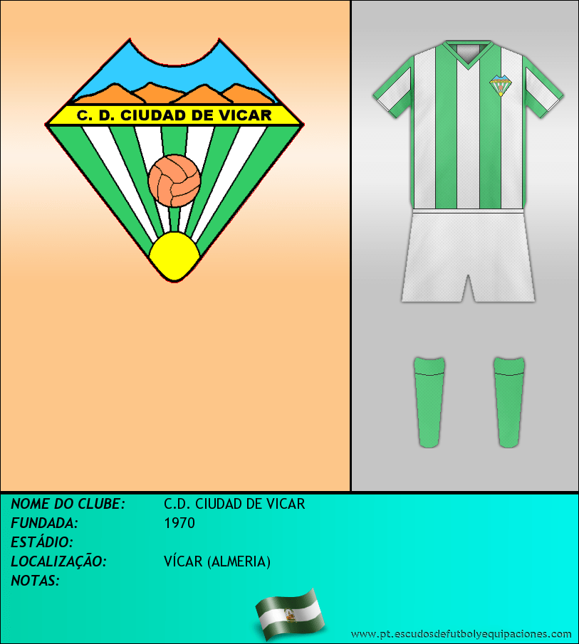 Escudo de C.D. CIUDAD DE VICAR