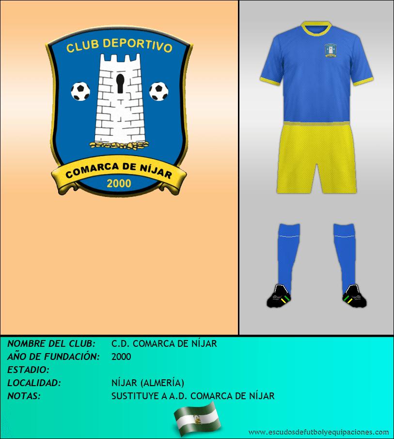 Escudo de C.D. COMARCA DE NÍJAR