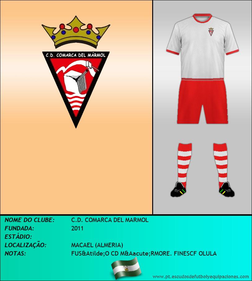 Escudo de C.D. COMARCA DEL MARMOL