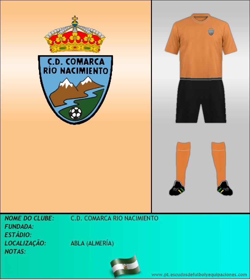 Escudo de C.D. COMARCA RIO NACIMIENTO