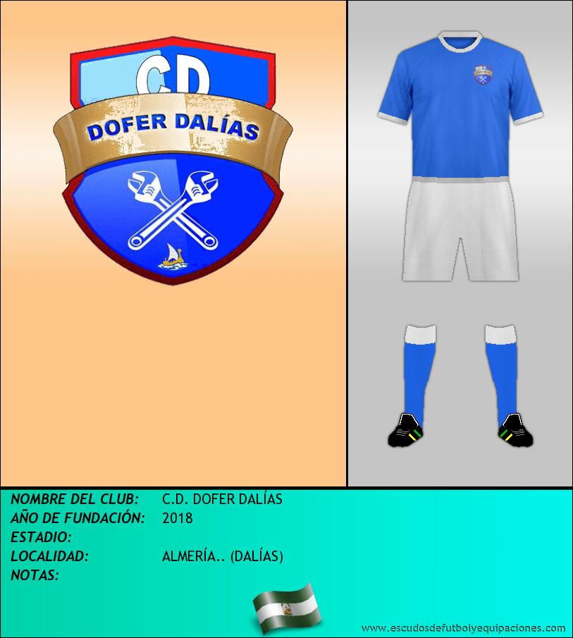 Escudo de C.D. DOFER DALÍAS