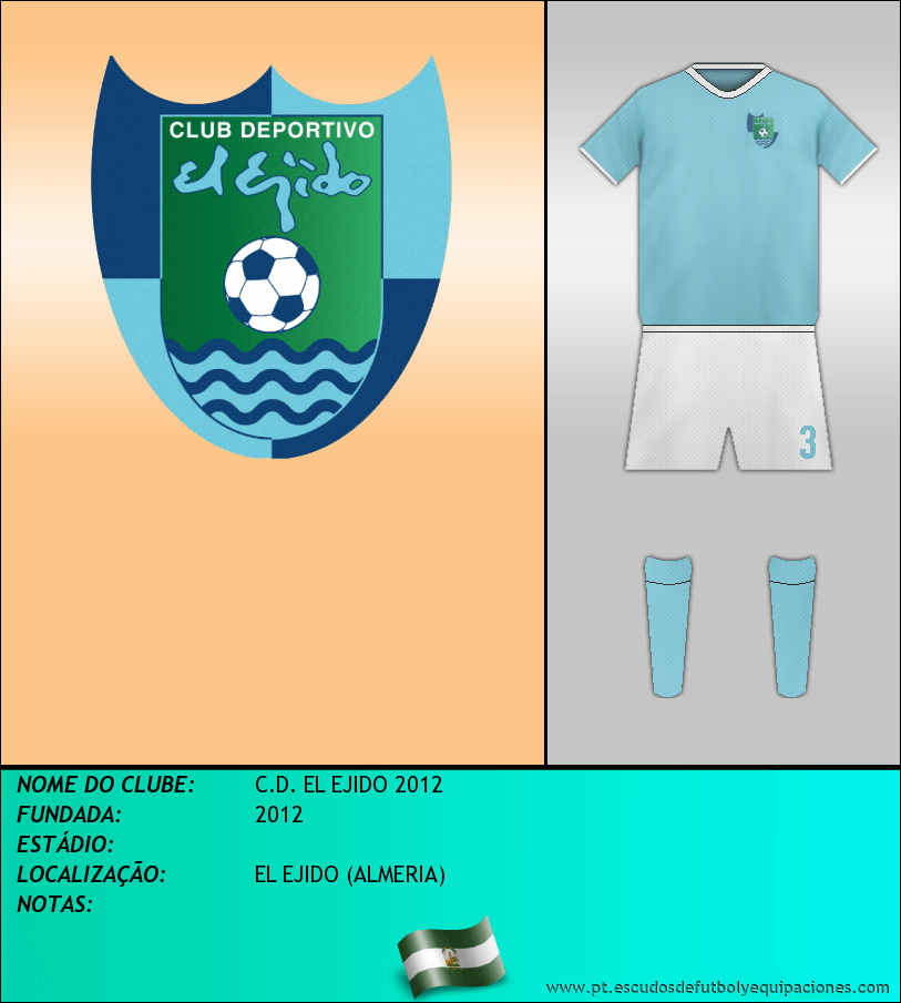 Escudo de C.D. EL EJIDO 2012