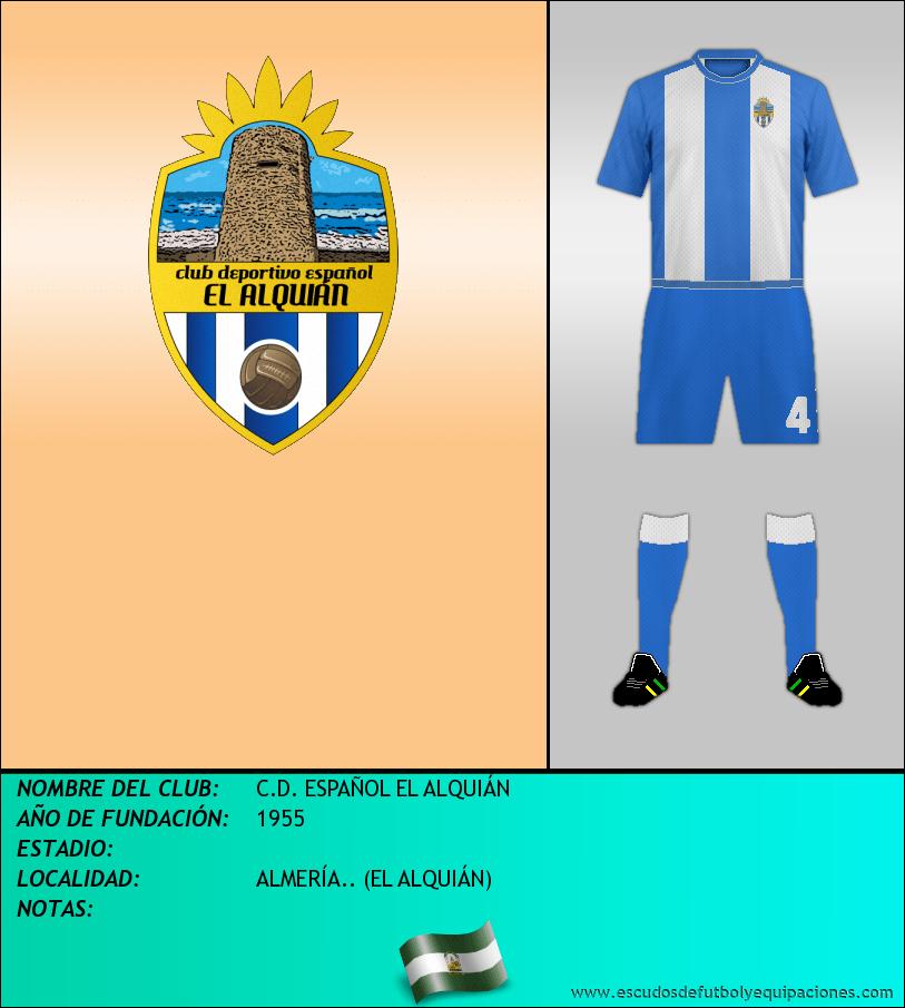 Escudo de C.D. ESPAÑOL EL ALQUIÁN