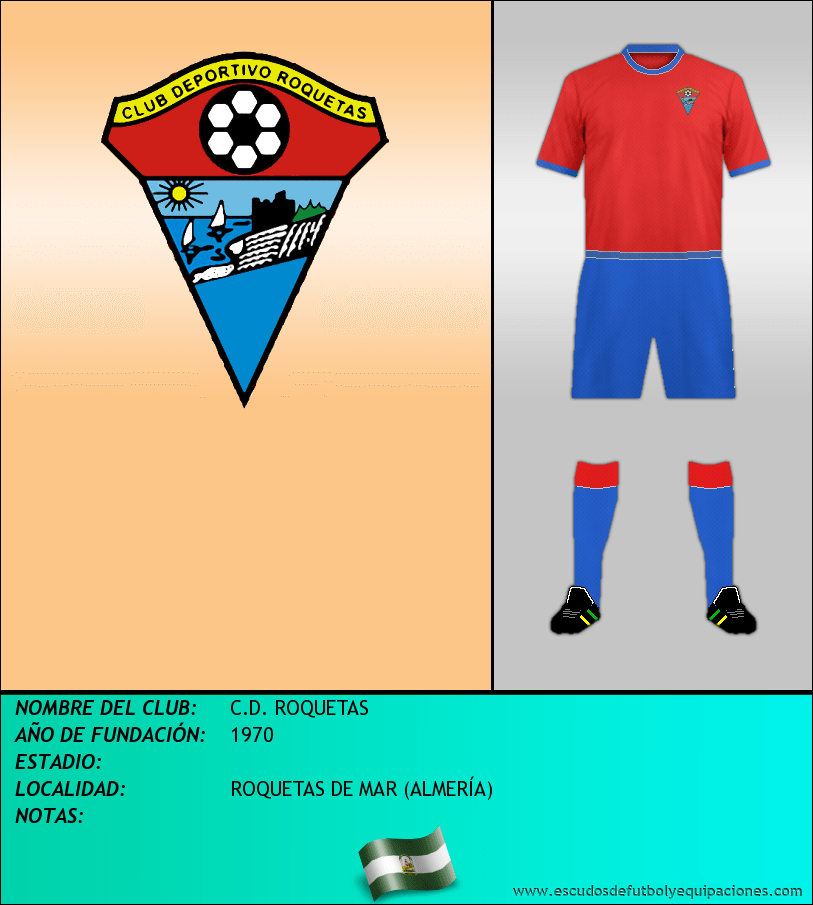 Escudo de C.D. ROQUETAS