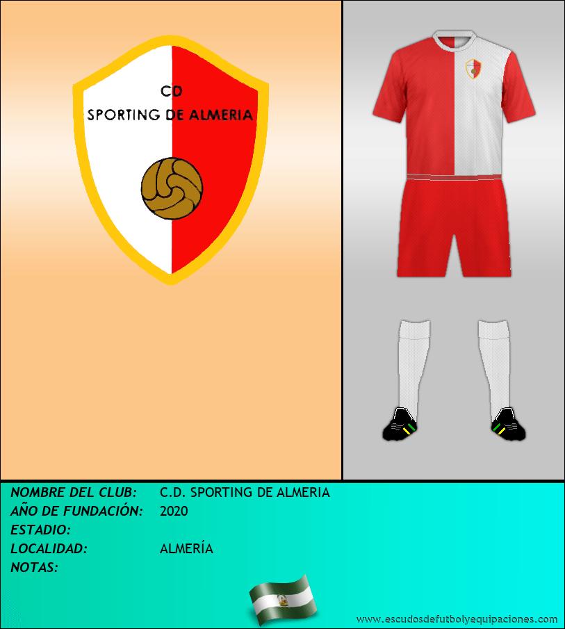 Escudo de C.D. SPORTING DE ALMERIA