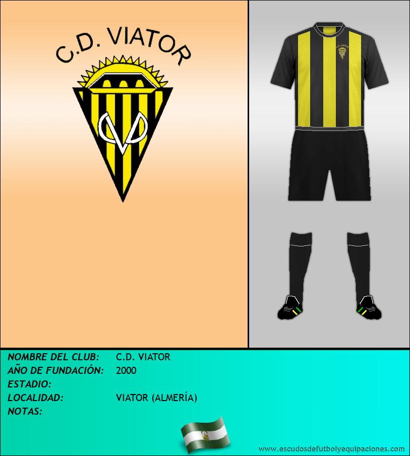 Escudo de C.D. VIATOR