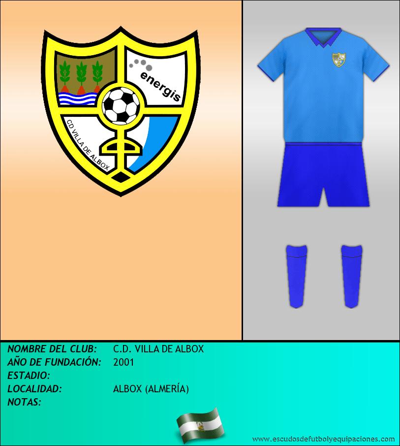 Escudo de C.D. VILLA DE ALBOX