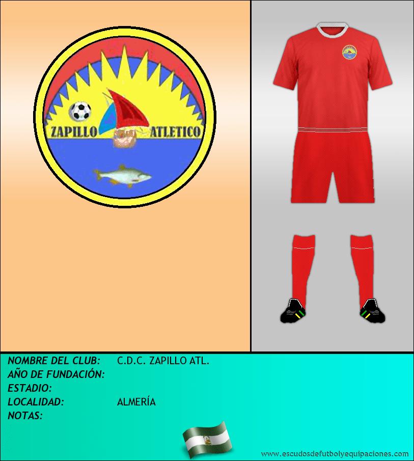 Escudo de C.D.C. ZAPILLO ATL.