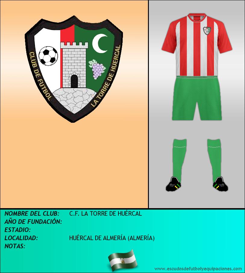 Escudo de C.F. LA TORRE DE HUÉRCAL