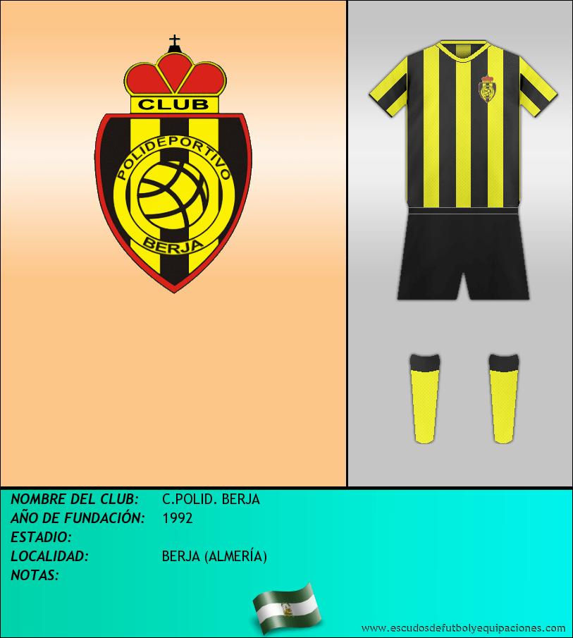 Escudo de C.POLID. BERJA