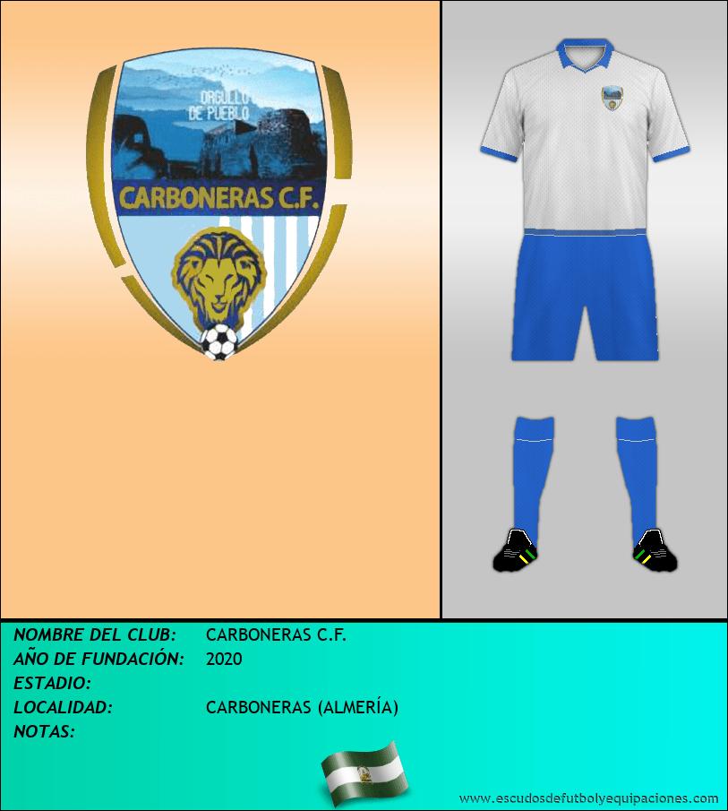 Escudo de CARBONERAS C.F.