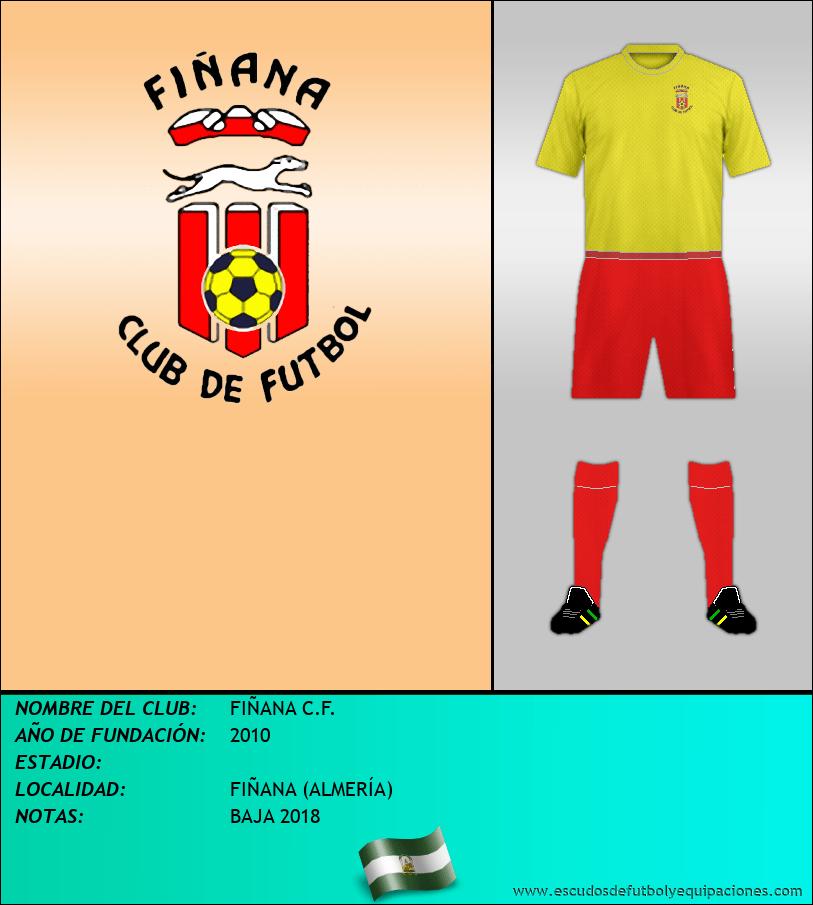 Escudo de FIÑANA C.F.