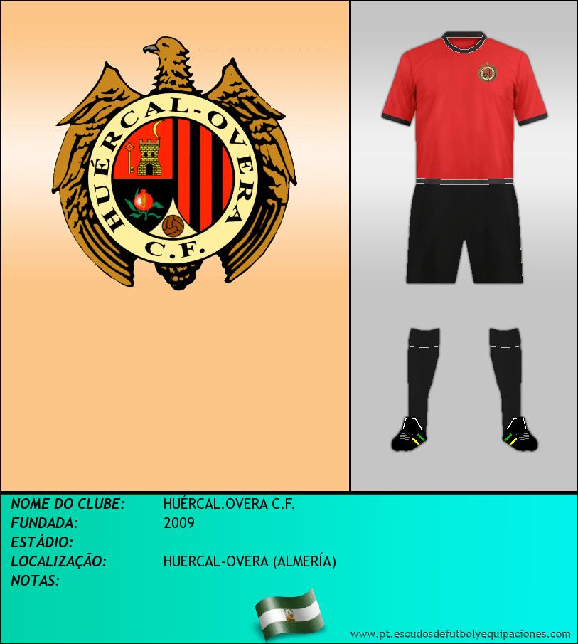Escudo de HUÉRCAL.OVERA C.F.