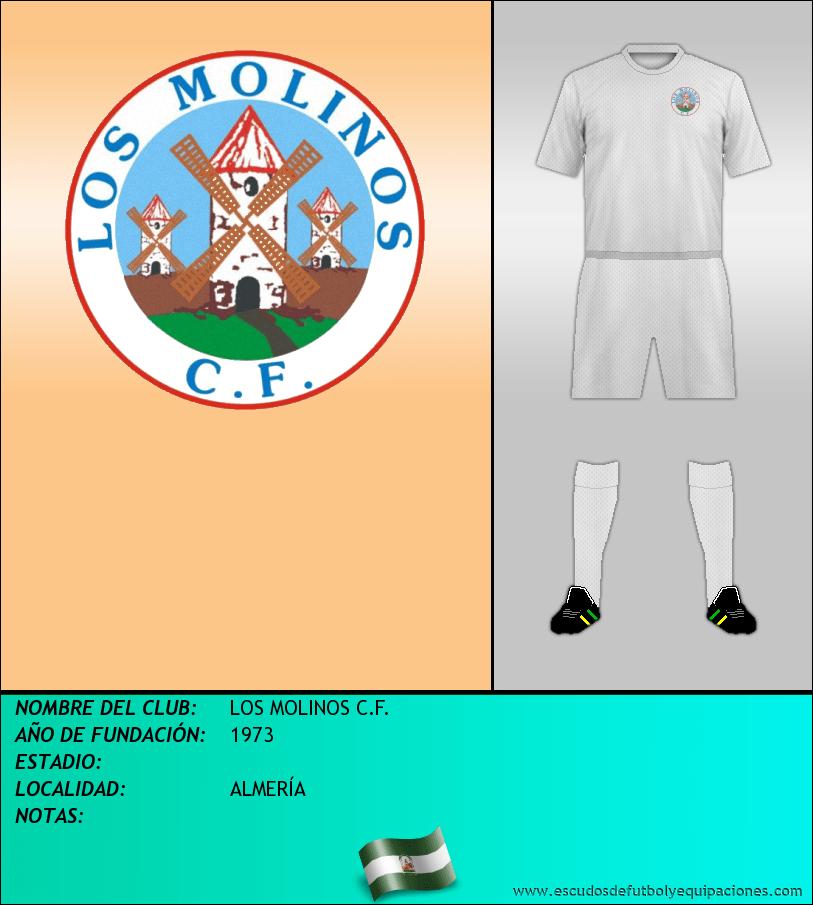 Escudo de LOS MOLINOS C.F.