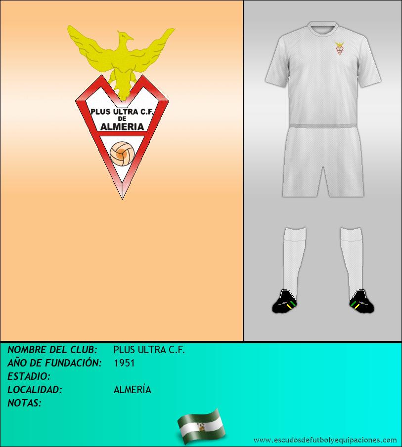 Escudo de PLUS ULTRA C.F.