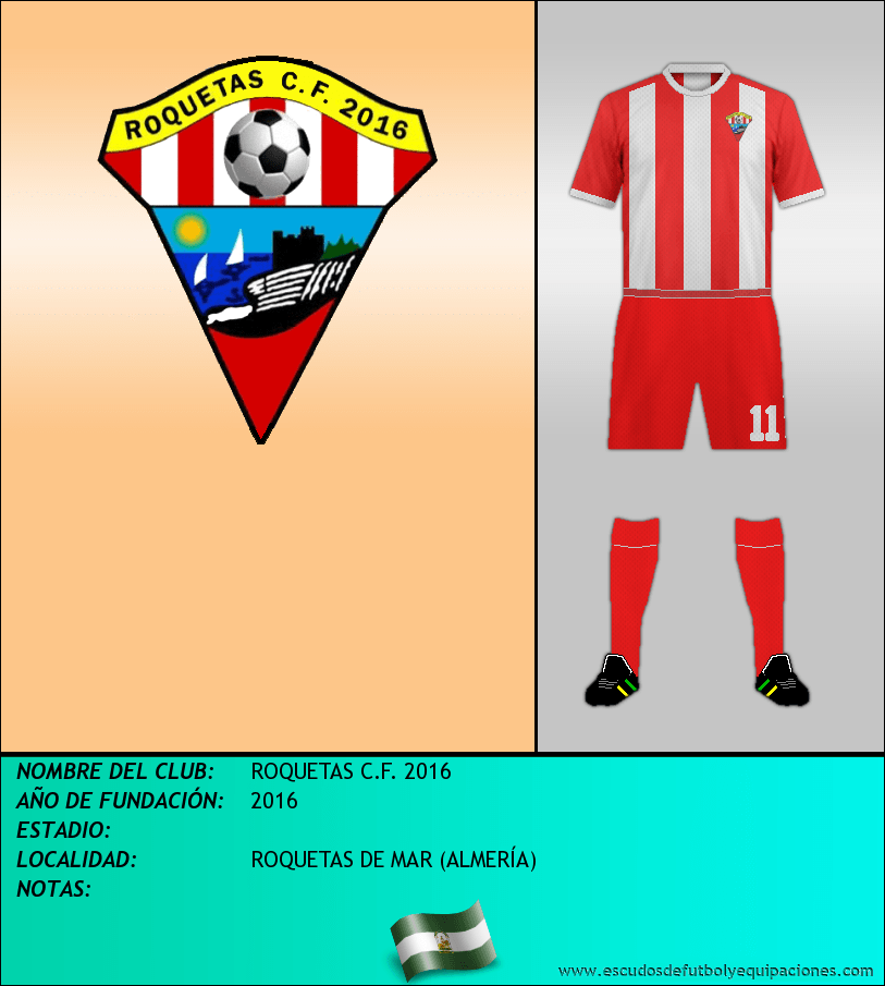 Escudo de ROQUETAS C.F. 2016