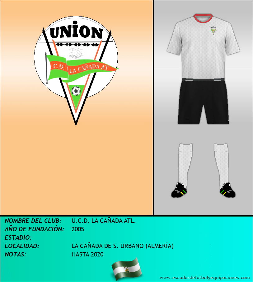 Escudo de U.C.D. LA CAÑADA ATL.