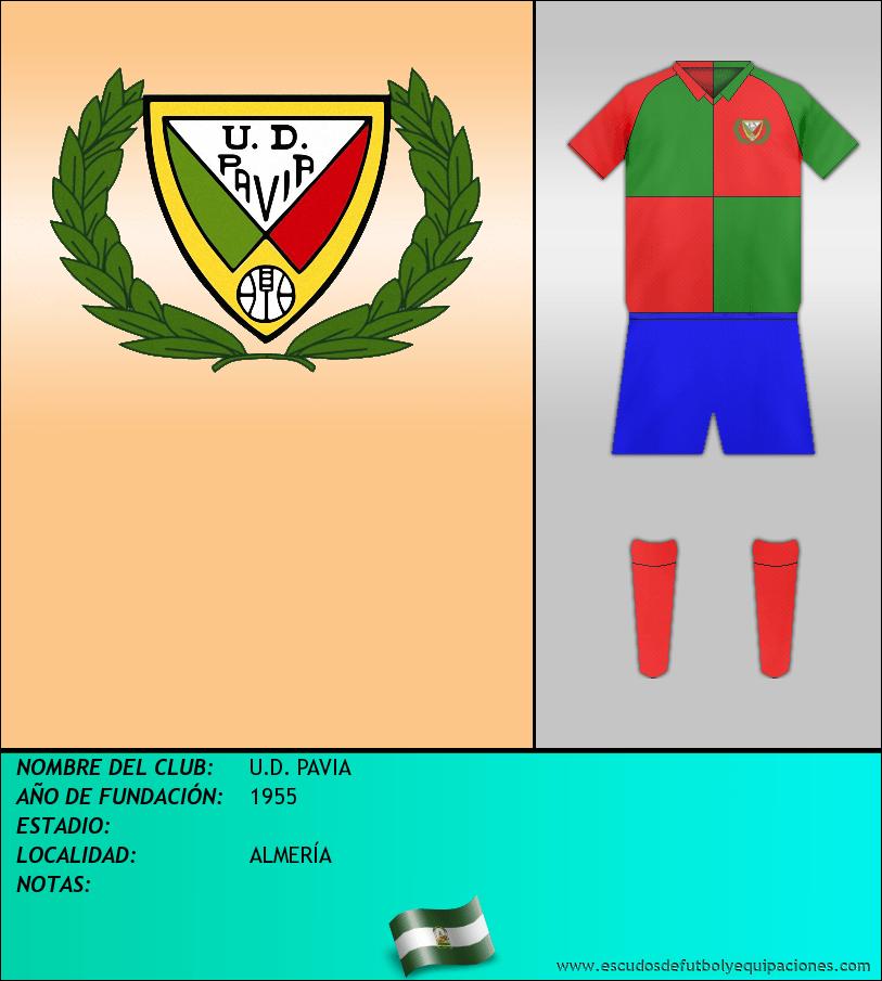 Escudo de U.D. PAVIA