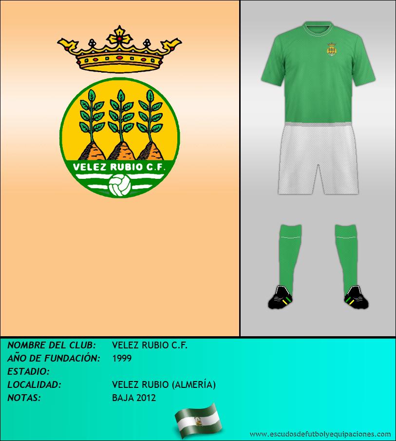 Escudo de VELEZ RUBIO C.F.