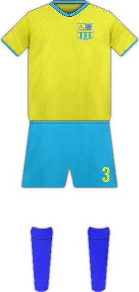 Equipación ALGECIRAS DEPORTIVO FC