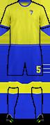 Camiseta CADIZ C.F.