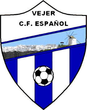 Escudo de C.F. ESPAÑOL DE VEJER (ANDALUCÍA)