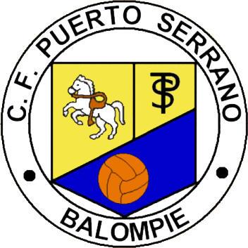 Escudo de C.F. PUERTO SERRANO BALOMPIÉ (ANDALUCÍA)