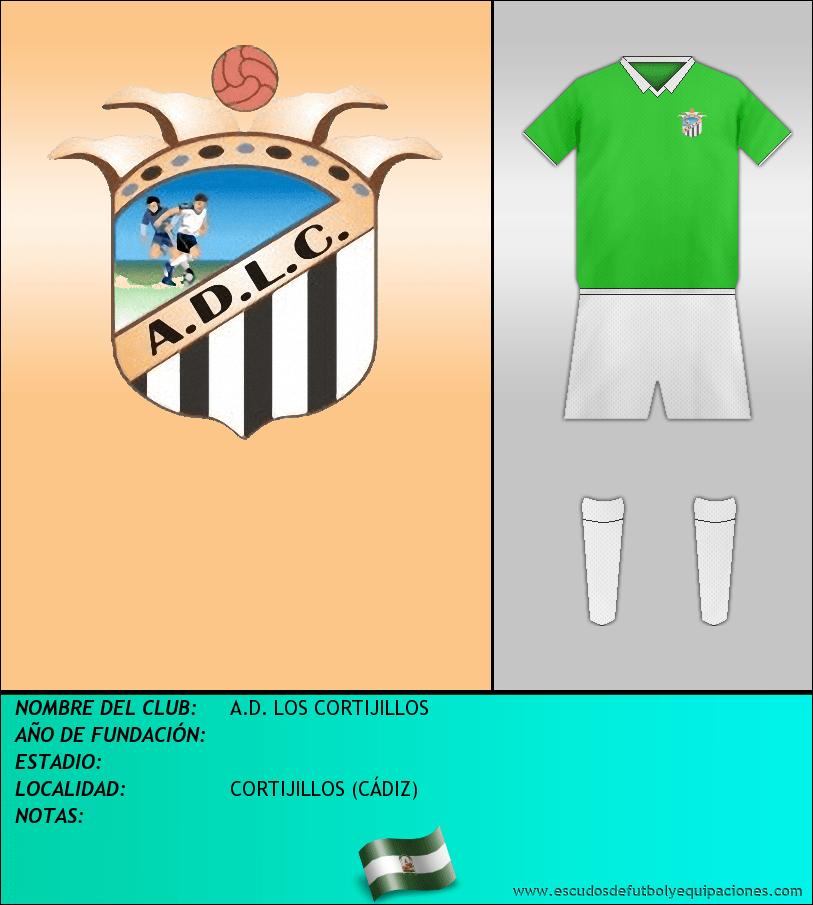 Escudo de A.D. LOS CORTIJILLOS