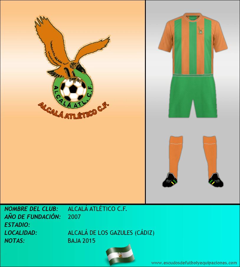 Escudo de ALCALÁ ATLÉTICO C.F.