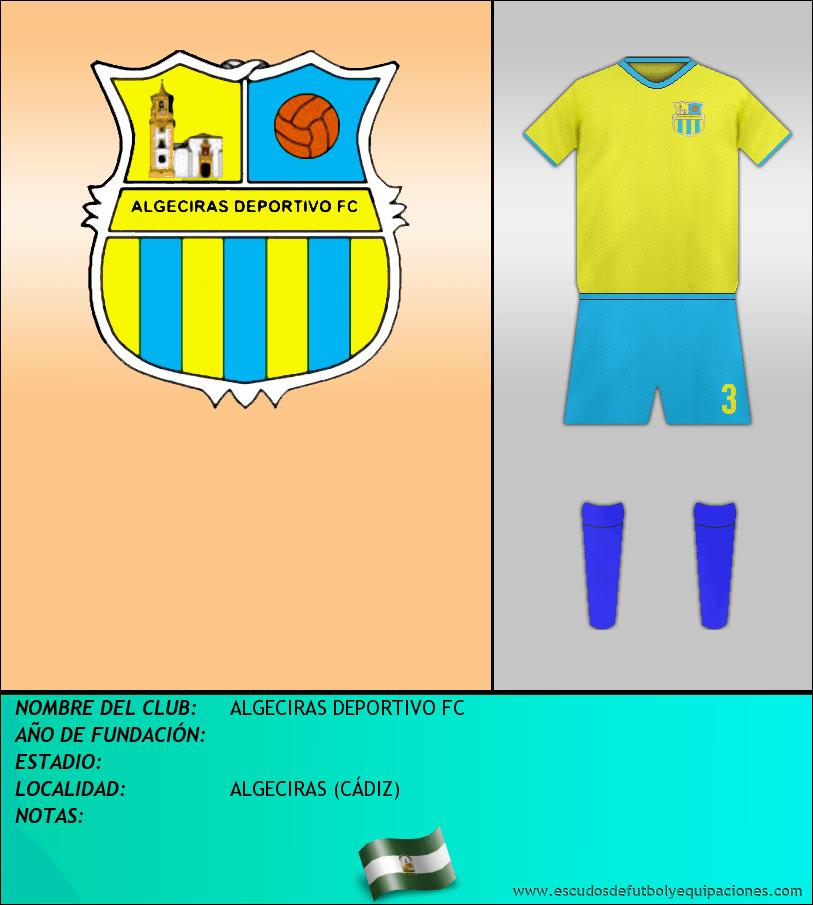 Escudo de ALGECIRAS DEPORTIVO FC